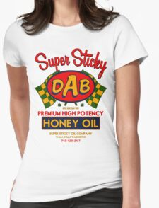 DAB-Honey oil-3 Womens Fitted T-Shirt