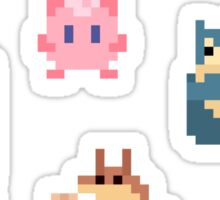 Mini Pixel Kanto Normal Types - Set of 9 Sticker