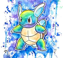Cool WARTORTLE Watercolor Tshirts + More! ' Pokemon ' Jonny2may by Jonny2may