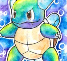 Cool WARTORTLE Watercolor Tshirts + More! ' Pokemon ' Jonny2may Sticker