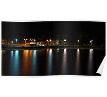 Belmore Basin at Night Poster