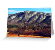 Great Smoky Mountains landscape photography Greeting Card
