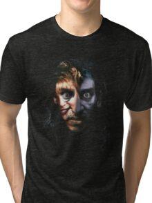 Twin Peaks - Bob & Laura Tri-blend T-Shirt