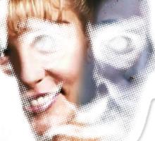 Twin Peaks - Bob & Laura Sticker