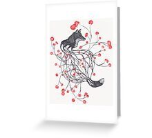 Blossom Fox Greeting Card