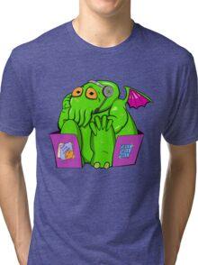 Call Center Of Cthulhu Tri-blend T-Shirt