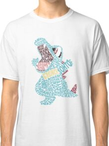 Totodile Typography Classic T-Shirt