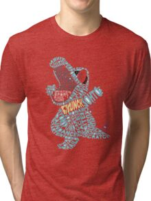 Totodile Typography Tri-blend T-Shirt