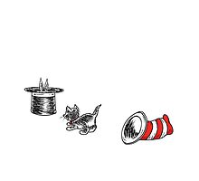 Cat in the Hat & the Magician's Rabbit by istaria