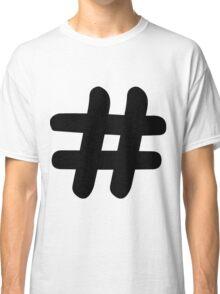 Hashtag Classic T-Shirt