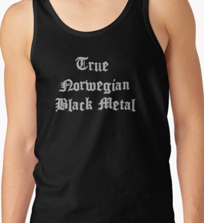 True Norwegian Black Metal Tank Top