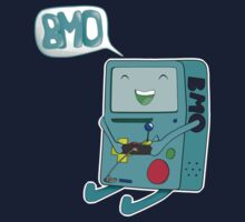BMO Playing Himself by Mew82