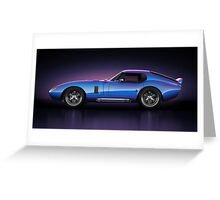 Shelby Daytona - Velocity Greeting Card