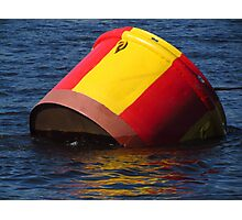 Bright Buoy Photographic Print