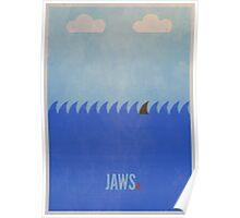 Minimal Jaws Print 2 Poster