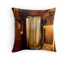 This Is the Way, Step Inside... Throw Pillow