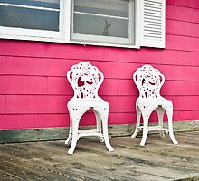 Porch for Two Please by Dennis Maida