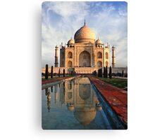 Morning in Agra Canvas Print