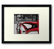 Red Classic Framed Print