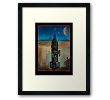 Moon Base RD 674 Framed Print