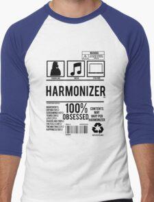 Harmonizer Logo Package! Men's Baseball ¾ T-Shirt