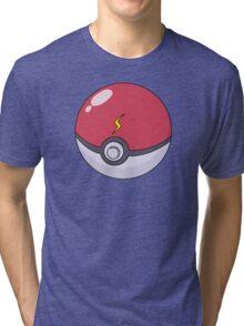 Pikachu's Pokeball Tri-blend T-Shirt