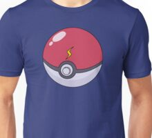 Pikachu's Pokeball Unisex T-Shirt