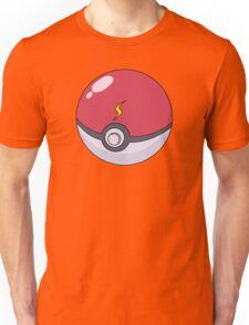 Pikachu's Pokeball Unisex T-Shirt