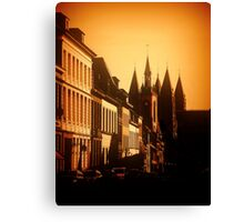 tournai belgium Canvas Print