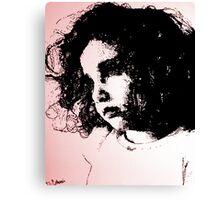 Ava In Wonderland (Digital Update) Canvas Print