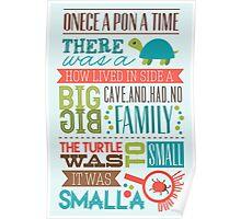 """""""Smalla than a bug"""" Poster"""