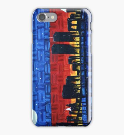 Remembering 9/11-Sunrise through the City iPhone Case/Skin