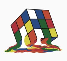 Rubik's Cube melting by DjenDesign