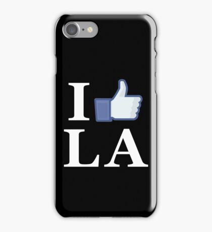 I Like LA - I Love LA - Los Angeles iPhone Case/Skin