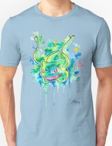 Cool BULBASAUR Watercolor Tshirts + More! ' Pokemon ' Jonny2may T-Shirt