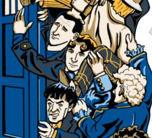 Who's Who - All 11 Doctor Whos - Sticker Sticker
