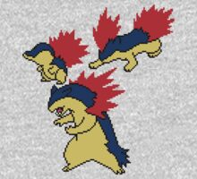 Cyndaquil, Quilava and Typhlosion Kids Clothes