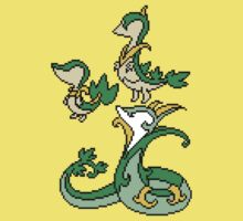 Snivy, Servine and Serperior Kids Clothes