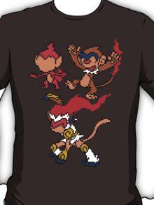 Chimchar, Monferno and Infernape T-Shirt