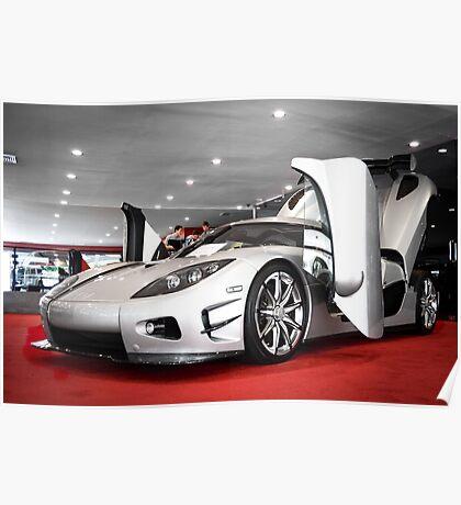 Koenigsegg CCX Trevita Poster