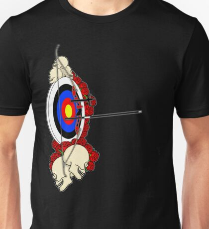 Rock 'n Bow (Right handed) Unisex T-Shirt