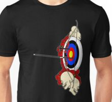Rock 'n Bow (Left handed) Unisex T-Shirt