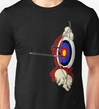 Rock 'n Bow (Left handed) Unisex T-Shirt