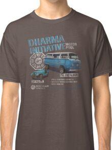 Dharma Initiative Motor Pool (LOST) Classic T-Shirt