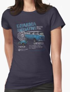 Dharma Initiative Motor Pool (LOST) Womens Fitted T-Shirt