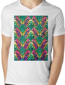 art nouveau Mens V-Neck T-Shirt