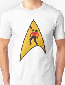 He's Dead, Jim - Sticker T-Shirt