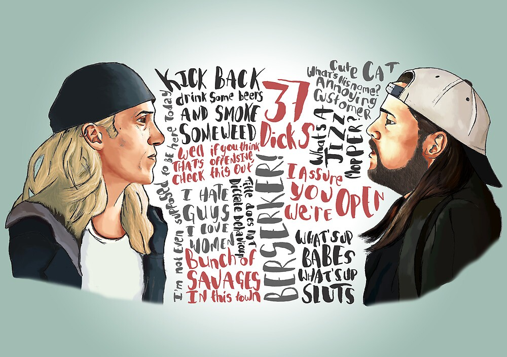 Clerks - Quotes movie poster by RobocopMurphy