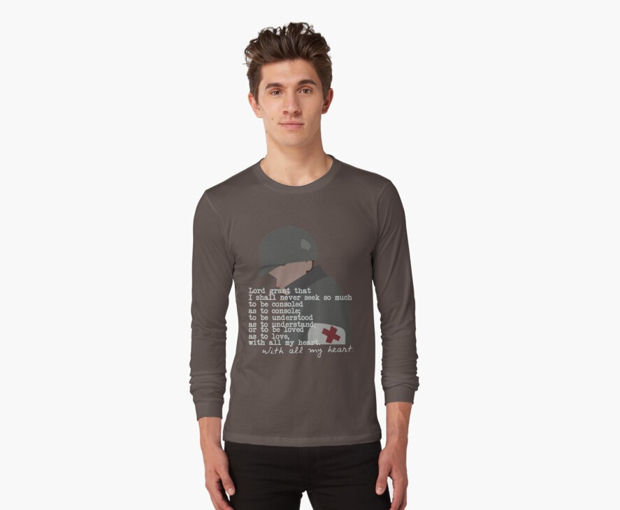 Eugene Roe shirt (dark) by Copperoxide