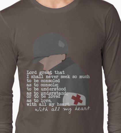 Eugene Roe shirt (dark) Long Sleeve T-Shirt